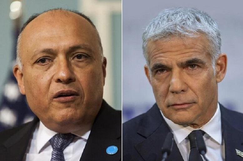 نخستین گفتگوی تلفنی وزرای خارجه مصر و اسرائیل