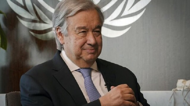 انتصاب دوباره گوترش به عنوان دبیرکل سازمان ملل