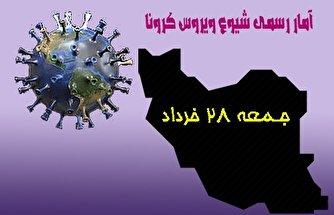 آخرین آمار کرونا در ایران تا ۲۸ خرداد/ ۱۲۷ بیمار دیگر بدرود حیات گفتند/ کاهش اندک «نرخ مرگ» در ایران