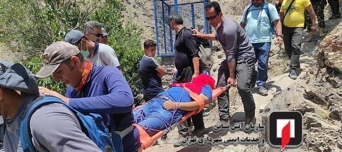 کشف جسد مرد میانسال در ارتفاعات درکه