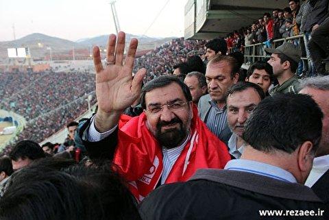 واکنش فوتبالی محسن رضایی به تخریب کاندیداها!