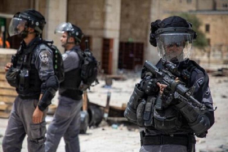 درگیری نظامیان صهیونیست با فلسطینیها در قدس