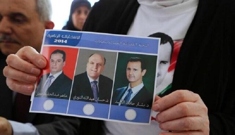 برگزاری انتخابات ریاست جمهوری در سوریه