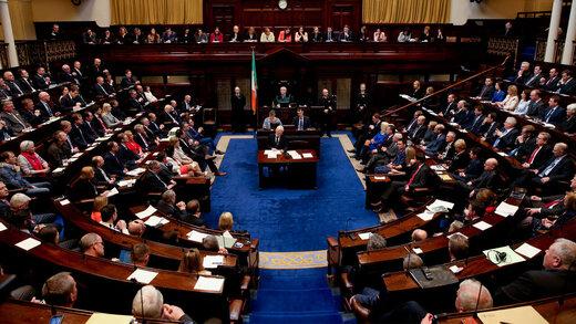 رأیگیری تاریخی پارلمان ایرلند علیه رژیمصهیونیستی