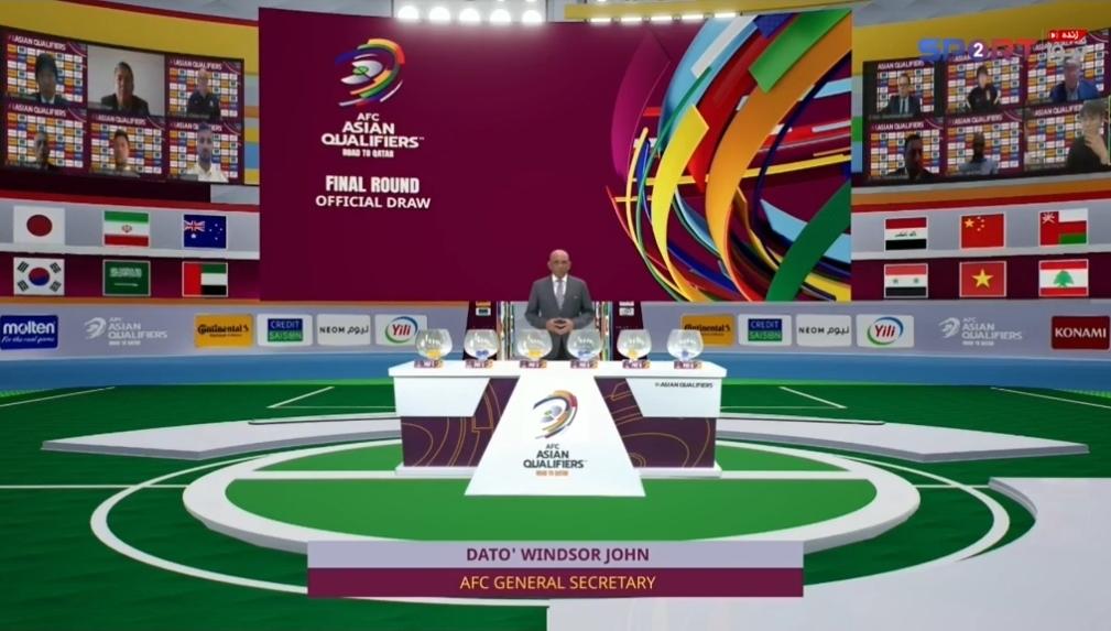 قرعه کشی مقدماتی جام جهانی در آسیا | گزارش زنده