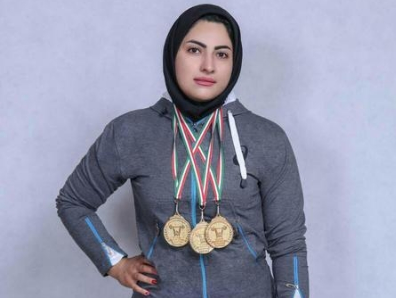 پریسا جهانفکریان اولین وزنهبردار زن المپیکی ایران شد