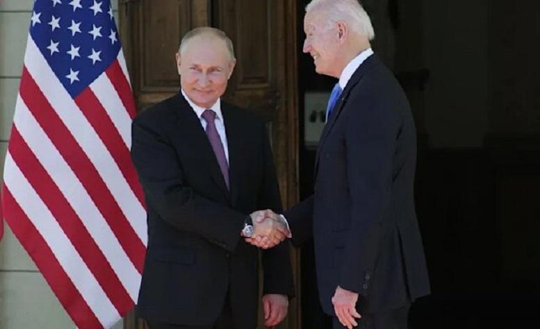 هشدار بایدن به پوتین درباره حملات سایبری
