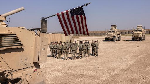 پایگاه آمریکا در شرق سوریه هدف قرار گرفت