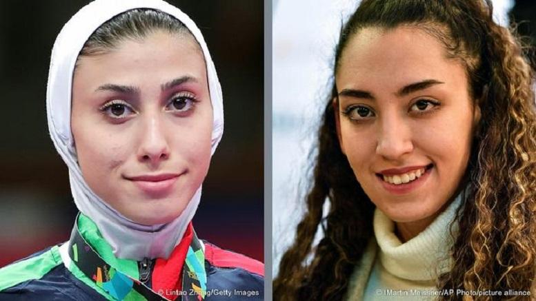 مسابقه کیمیا علیزاده مقابل ملیپوش ایران در المپیک