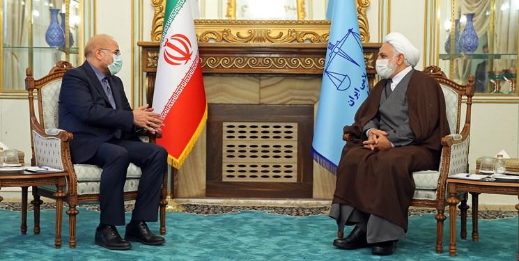 دیدار رئیس مجلس با محسنی اژهای