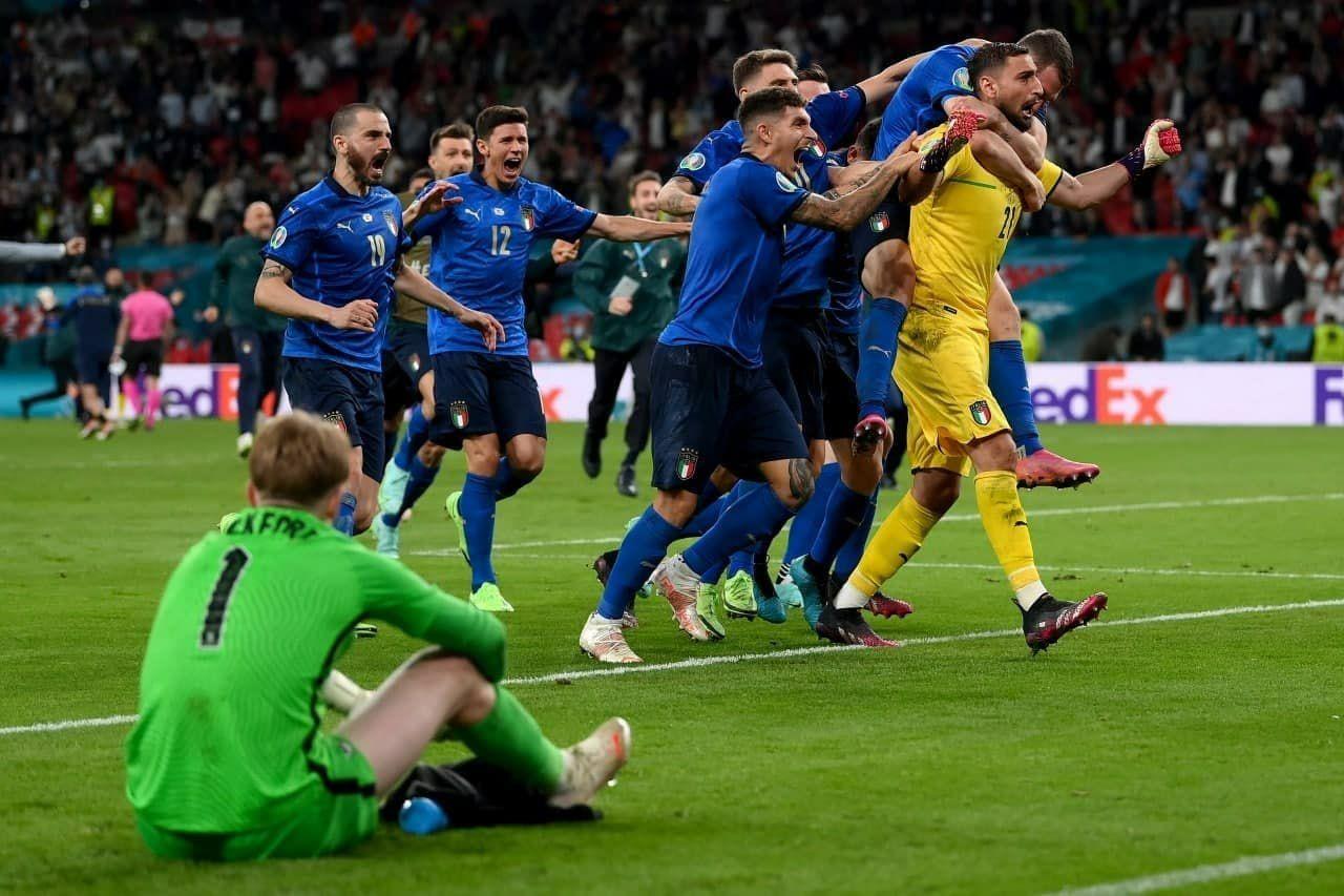 فینال یورو ۲۰۲۰: انگلیس ۴ - ایتالیا ۵   جام به رم رفت، حسرت به دل ملکه ماند