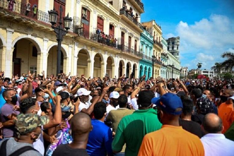 توطئه و مداخله آمریکا در بروز اعتراضات در هاوانا