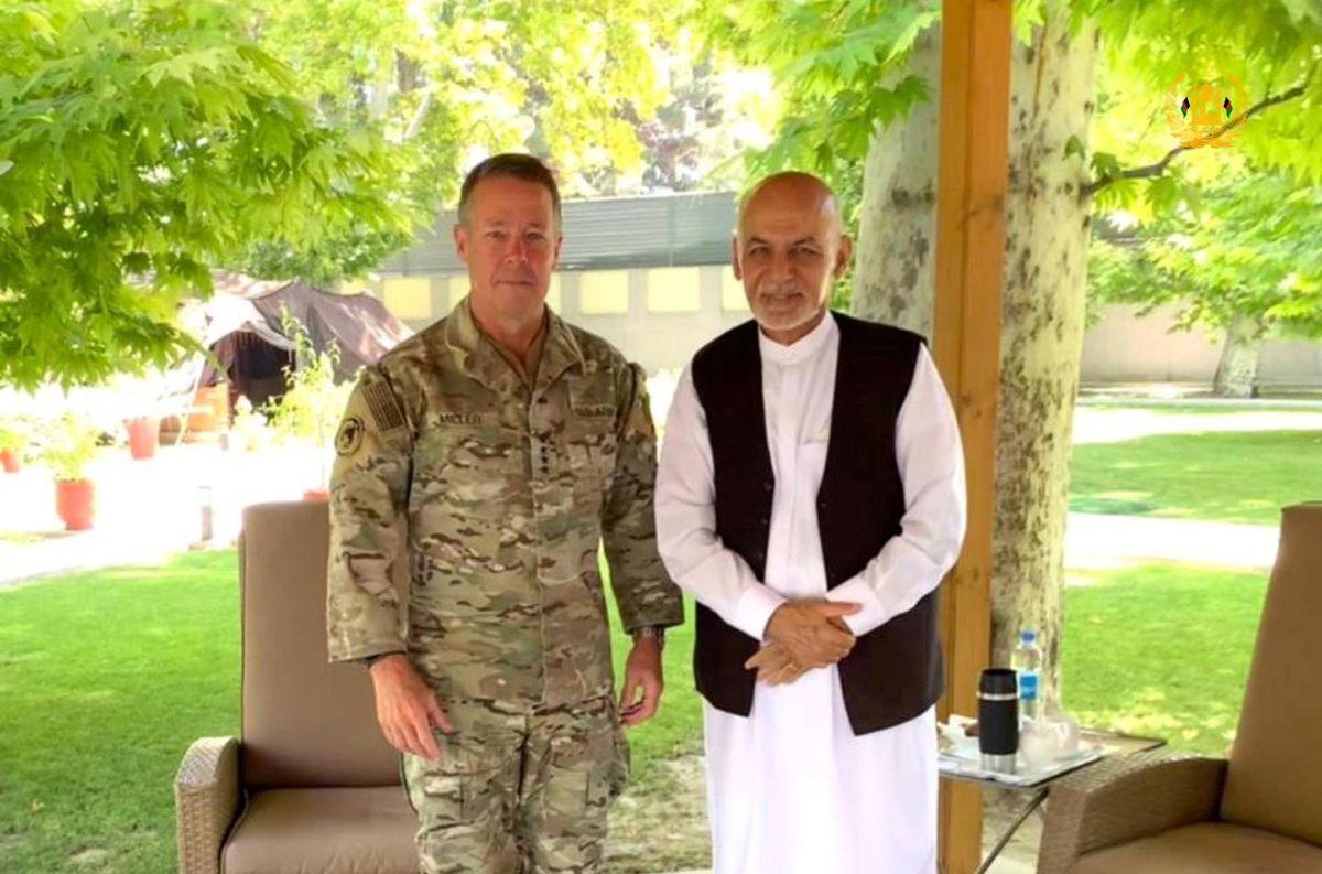 کناره گیری فرمانده ارشد ارتش آمریکا در افغانستان