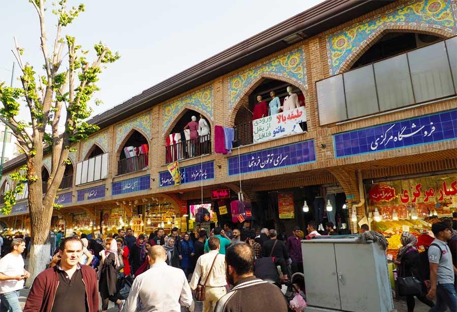 فعالیت بازار بزرگ تهران از سر گرفته شد