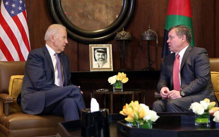پادشاه اردن فردا میهمان بایدن در کاخ سفید