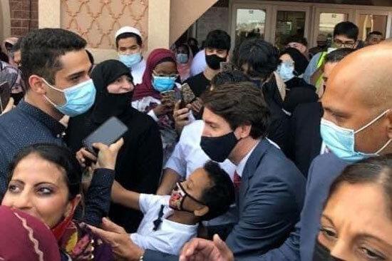 تبریک عید قربان به سبک نخستوزیر کانادا