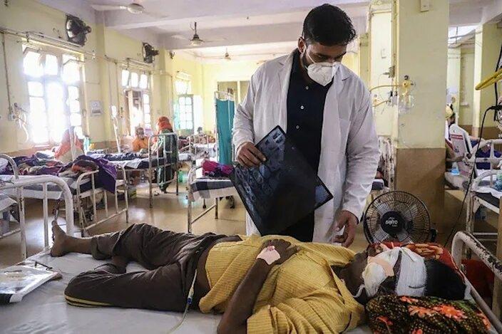 مرگ ۴۳۰۰ هندی به دلیل «قارچ سیاه»
