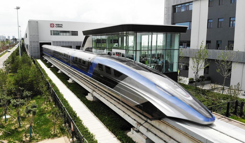 راه اندازی سریعترین وسیله نقلیه زمینی جهان در چین