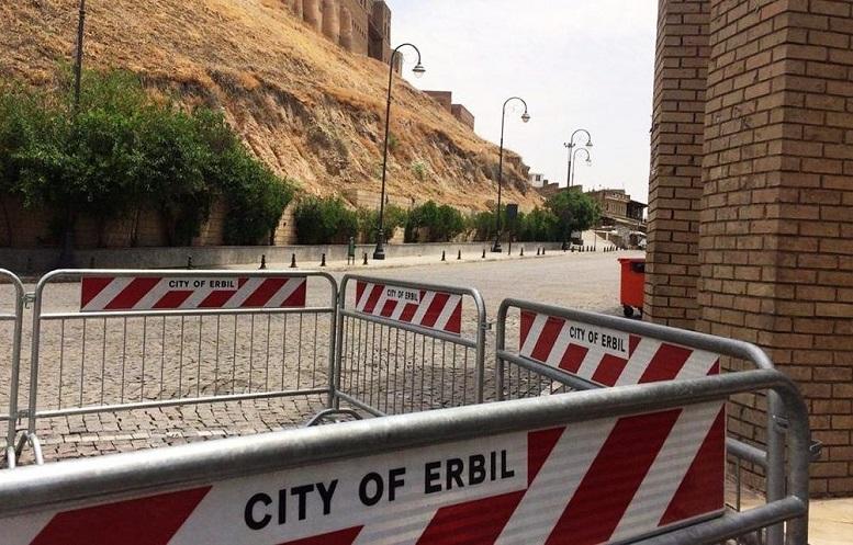اصابت یک موشک به اطراف یک هتل در اربیل عراق