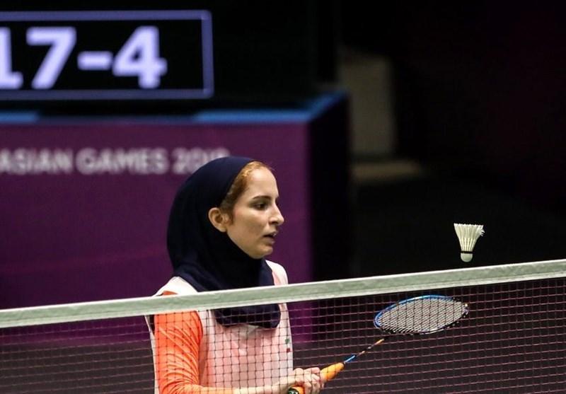 بدمینتون باز زن ایرانی، سهمیه المپیک گرفت