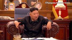تلویزیون کره شمالی بیماری رهبر این کشور را تایید کرد