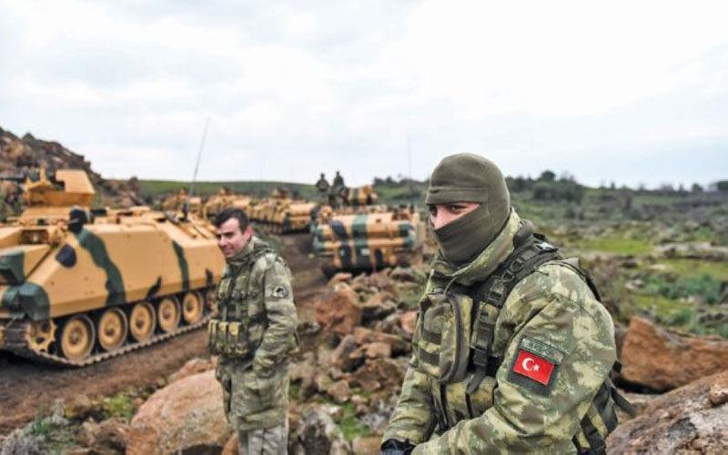 ۵ سرباز ترکیه به دست پ. ک. ک کشته شدند