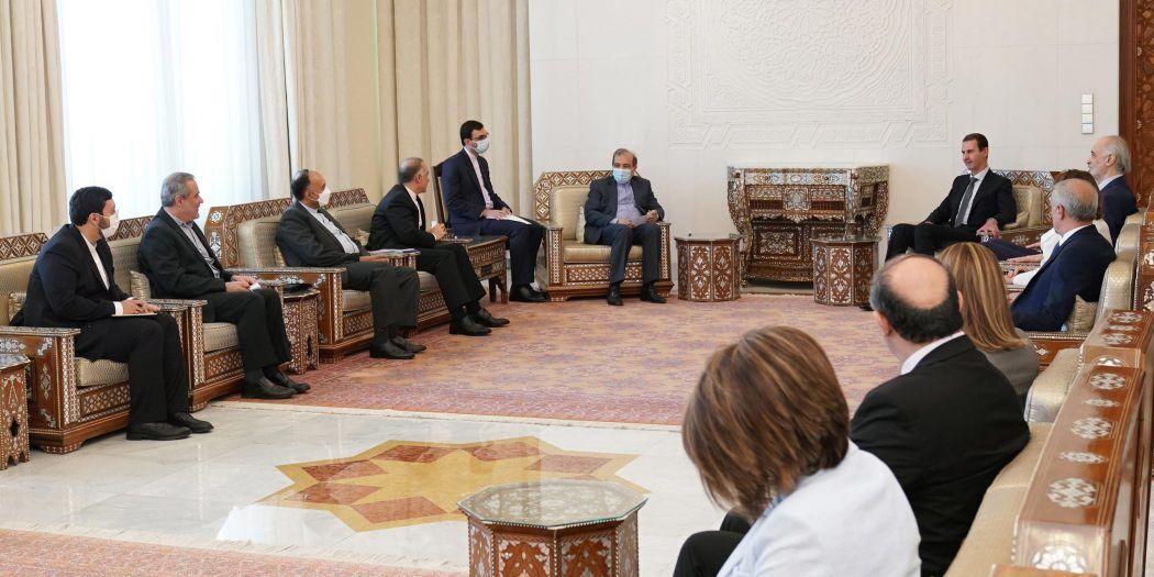 دستیار ارشد ظریف با بشار اسد دیدار کرد