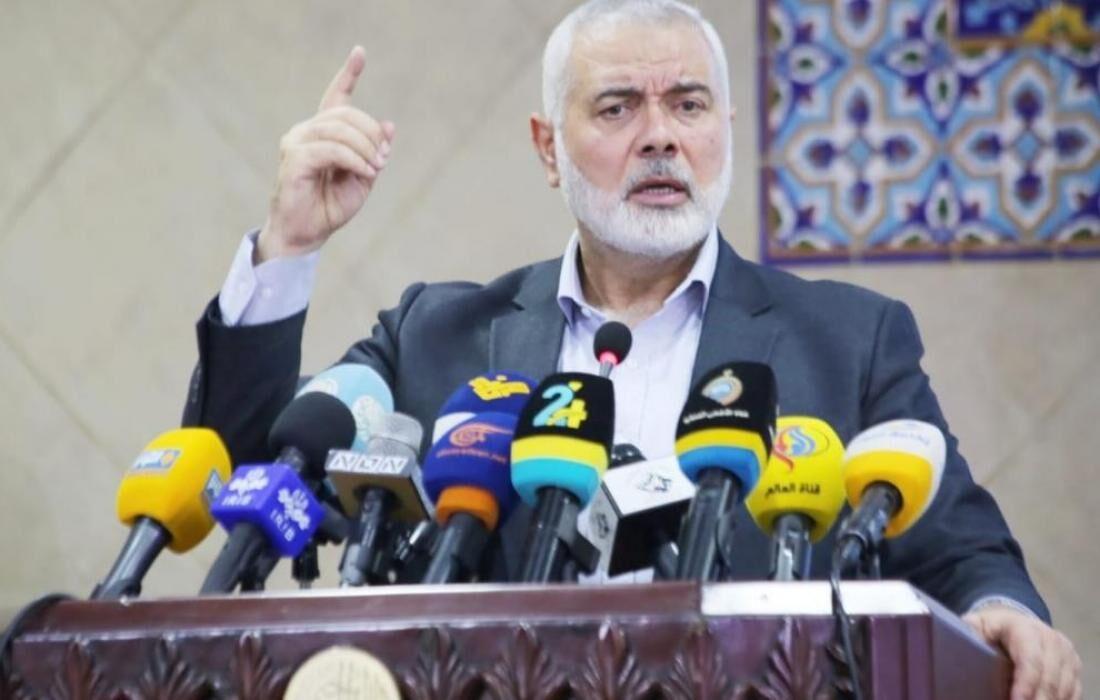 هنیه: به تجهیز برای آزادسازی فلسطین ادامه میدهیم