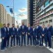 عکس شیک تیم ملی بسکتبال ایران وسط دهکده توکیو