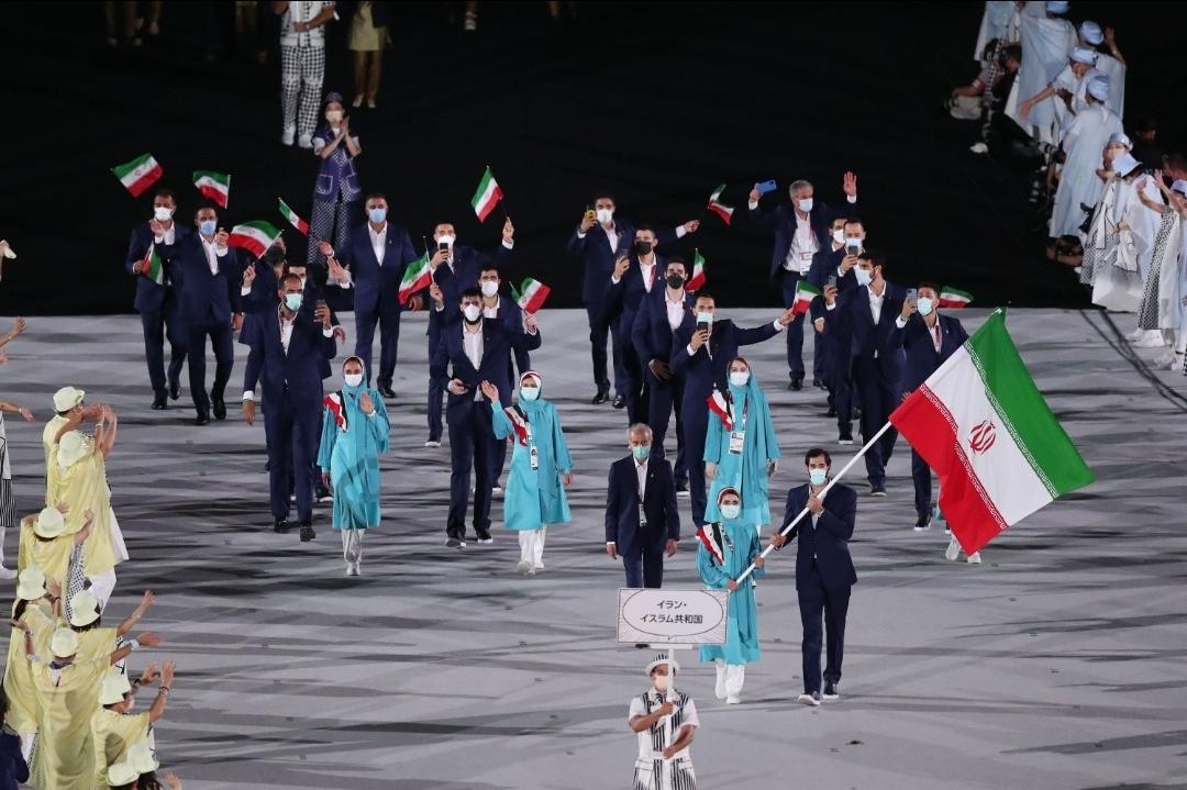 زاگرس پوش ازافتتاحیه المپیک سربلند بیرون آمد