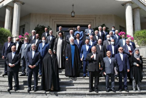 مواضع روحانی در آخرین جلسه هیات دولت دوازدهم