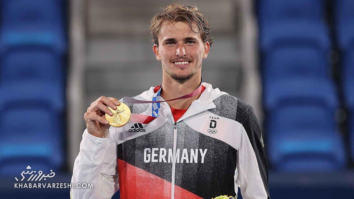 طلای تنیس المپیک به قاتل جوکوویچ رسید