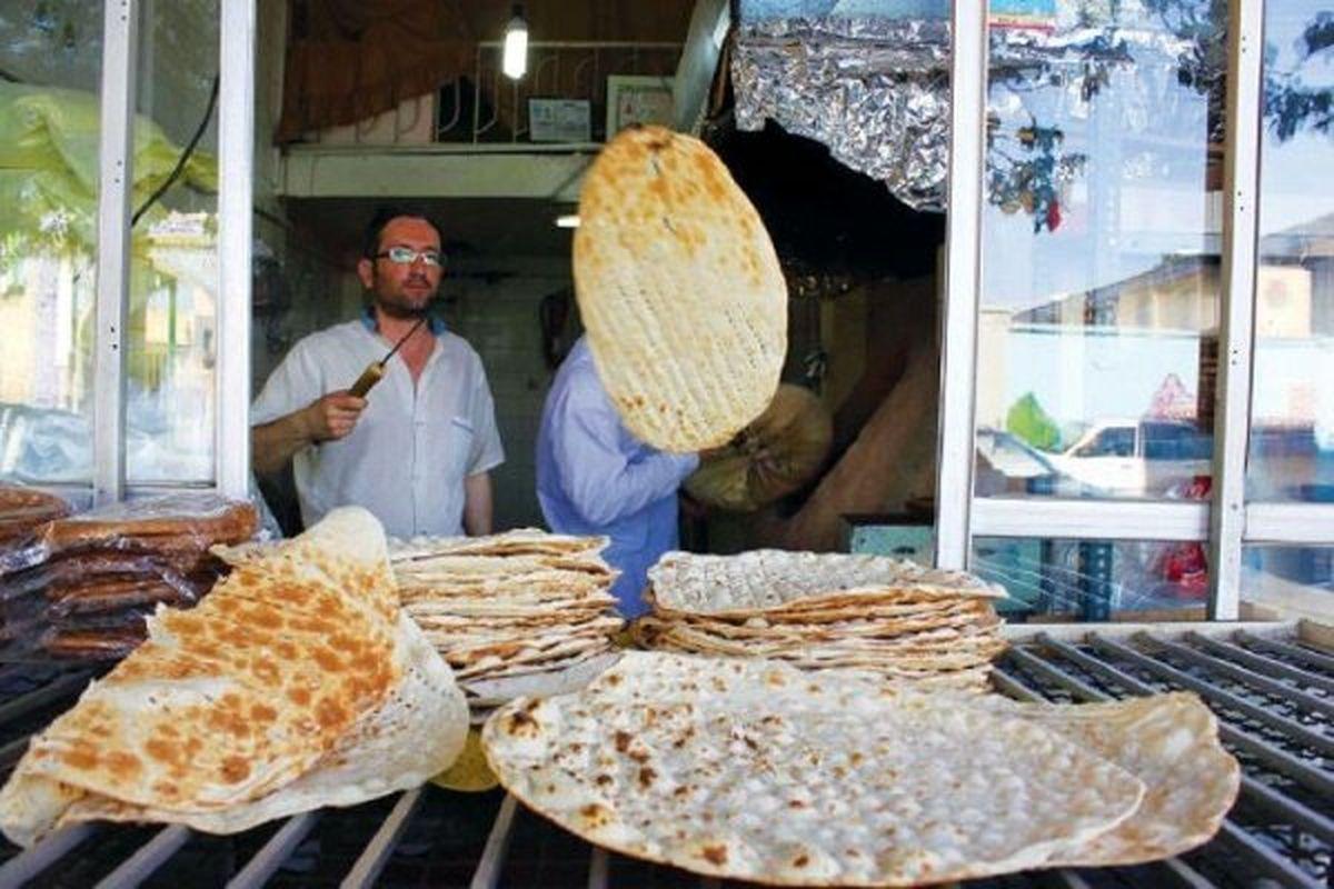 بعد از افزایش قیمت نان خرید آن تا ۳۰% کاهش یافت