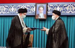 مراسم تنفیذ حکم ریاست جمهوری ابراهیم رئیسی