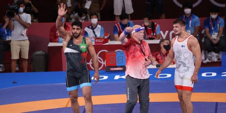 طلسم مدال المپیک شکست؛ ساروی برنز گرفت