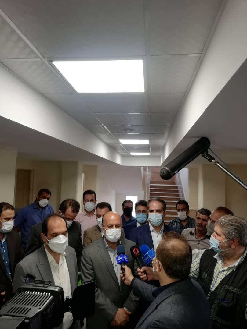 افتتاح ۳ پروژه عمرانی در شهریار با حضور شهردار و فرماندار/ استفاده از خدمات الکترونیکی خطاهای دستی را به صفر رساند