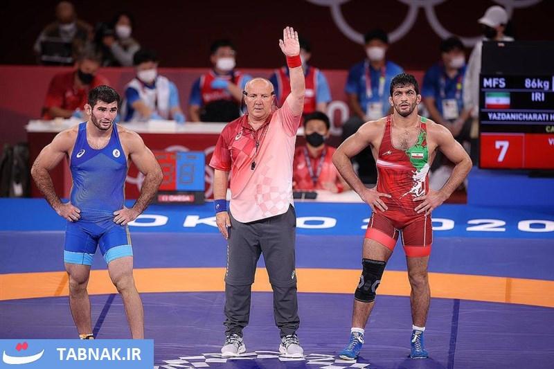 پیروزی حسن یزدانی بر حریف روس و صعود به فینال