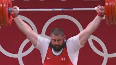رکوردشکنی وزنه بردار گرجستانی