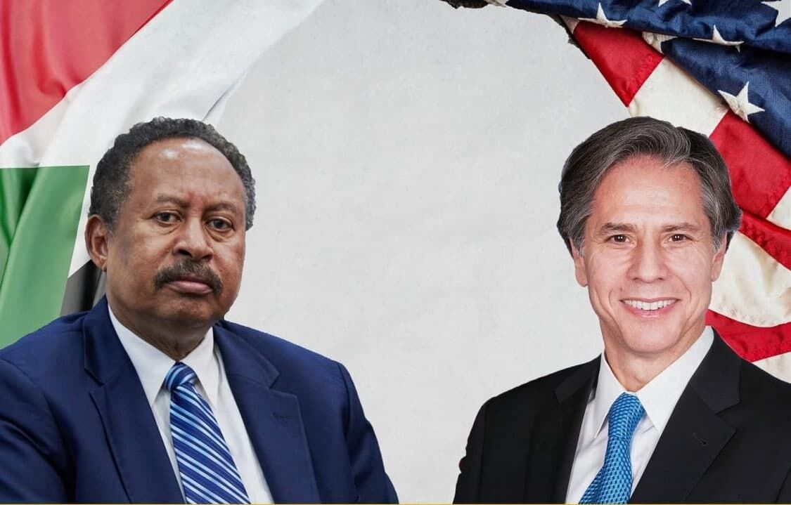 گفتگوی بلینکن و نخست وزیر سوداندرباره اتیوپی