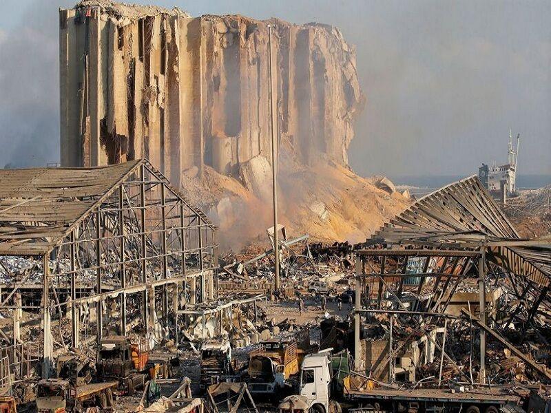 لبنانیها در سالگرد انفجار بیروت تظاهرات کردند