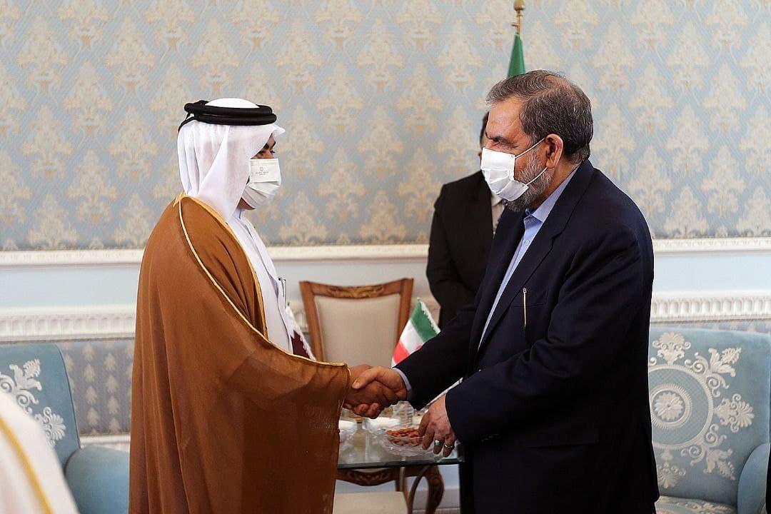 دیدار وزیر صنعت و تجارت قطر با محسن رضایی