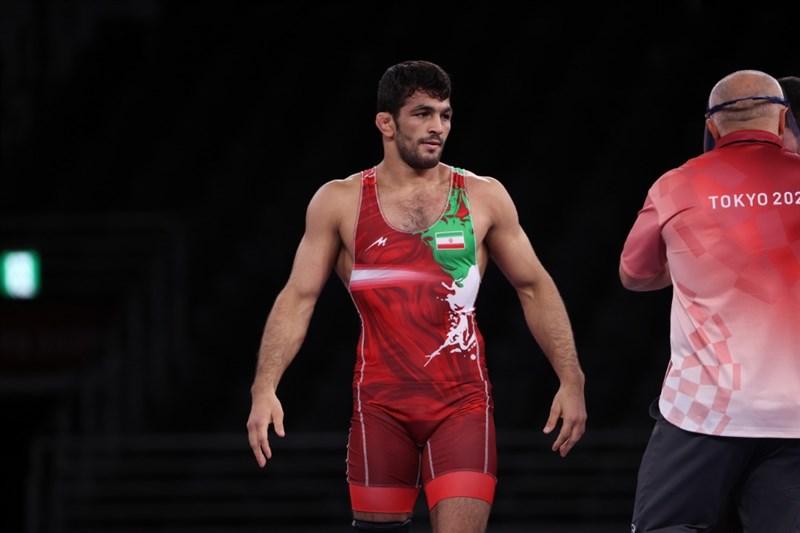 پیام حسن یزدانی به مردم ایران از دهکده المپیک