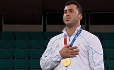 مسابقه قهرمانی گنج زاده و مراسم اهدای مدال