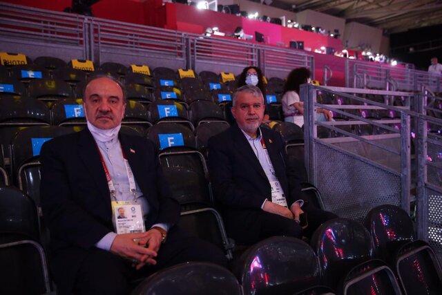 واکنش عجیب صالحیامیری به سقوط ایران در جدول المپیک