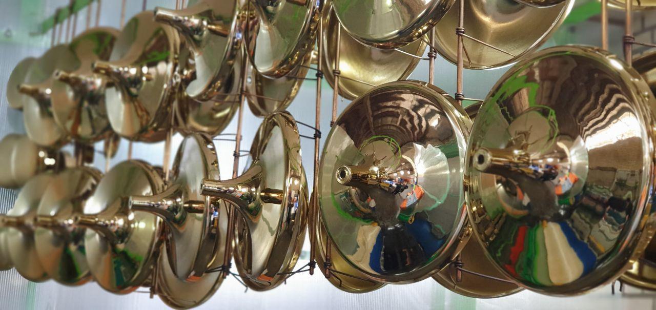 تجهیزات مدرن آبکاری فلزات و قطعات صنعتی