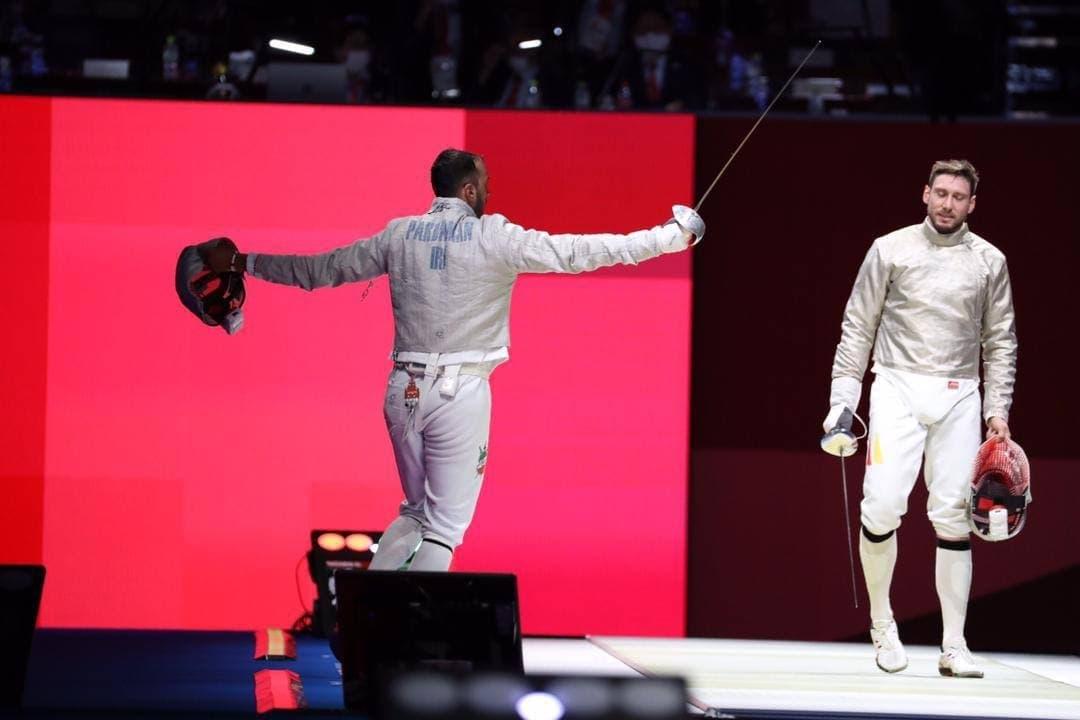 حذف هرسه شمشیرباز ایران از المپیک توکیو