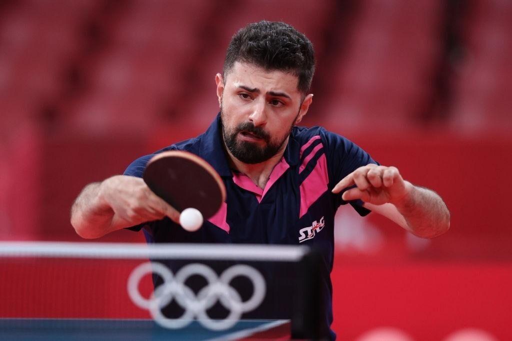 حذف برقآسای نیما عالمیان از پینگپنگ المپیک توکیو
