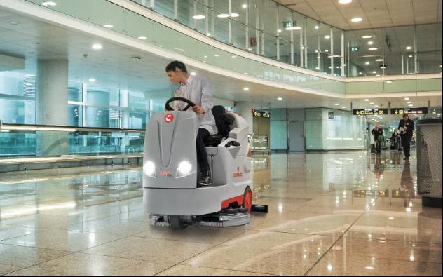 تجهیزات لازم برای نظافت فرودگاه