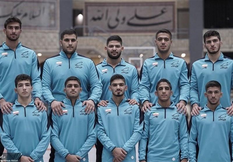 کشتی آزاد جوانان ایران با ۵طلا قهرمان دنیا شد