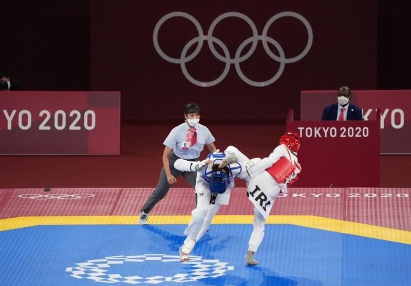 شکست ناهید کیانی از کیمیا علیزاده در المپیک توکیو